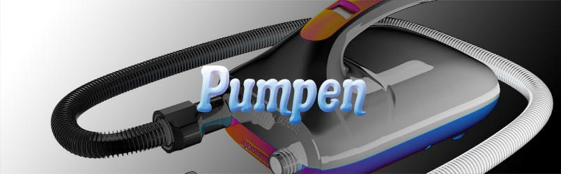 SUP Pump electric and manually