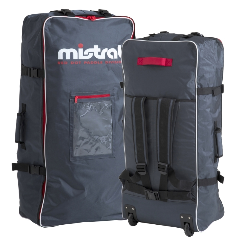 Mistral Boardbag Backpack with Wheels for i-SUP Standup Paddleboard