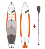 JP CruisAir LE 3DS 12,6 SUP inflatable with JP Carbon Glass SUP Paddle 3pcs