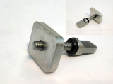 Screw and plate for US Box fin, Quick Fit US Fin Bolt