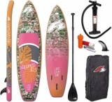F2 Happiness Woman 10,5 SUP inflatable Complete Set including Paddle