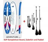 Mistral Adventure 10,5 x 31 SUP COMPLETE SET incl Glass PE Paddle 3pcs