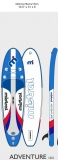 Mistral SUP Adventure Edition 10.5 inflatable SUP 2021