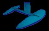 Neilpryde Glide Surf Alu Foil Size XL