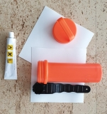 SUP repair set with glue in waterproof box