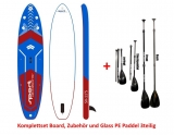 Sport Vibrations 11,5 Allround Touring SUP COMPLETE SET incl Glass PE Paddle 3pcs