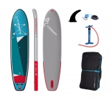 Starboard i-GO ZEN SC SUP Board inflatable 2021 complete Set with Glass PE Paddle