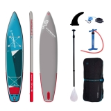 Starboard 12.6 x 30 Touring Zen SC SUP board inflatable 2021 Set including Tufskin Glass Paddle