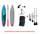 Starboard 12.6 x 30 Touring Zen SC SUP board inflatable 2021 Set including Glass PE Paddle