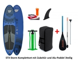 Storm Freeride blue 10,4 x 32 SUP inflatable incl Alu Paddle