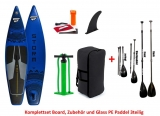 Storm Tourer blau 11,6 x 32 SUP inflatable incl Glass PE Paddle