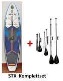 STX Freeride Wide 10,8x34 SUP inflatable incl Glass PE Paddle