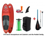 Storm Freeride red 10,4 x 32 SUP inflatable incl Alu Paddle