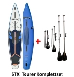 STX Touring 12,6x32 SUP inflatable incl Glass PE Paddle 3pcs