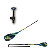 Supsters X-Cross SUP Paddle 50% Carbon 2 piece vario up to 234cm