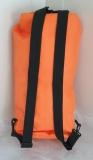 Waterproof transport bag with backpack function 25l volume